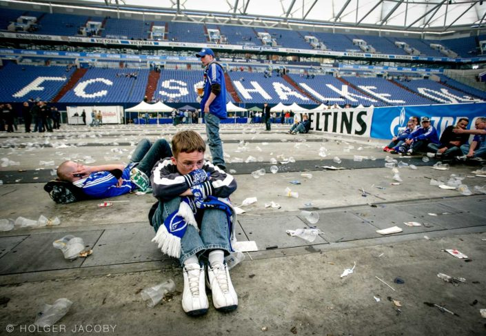 Public Viewing in der Schalke Arena