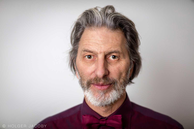 Portrait des Schauspielers Rufus Beck