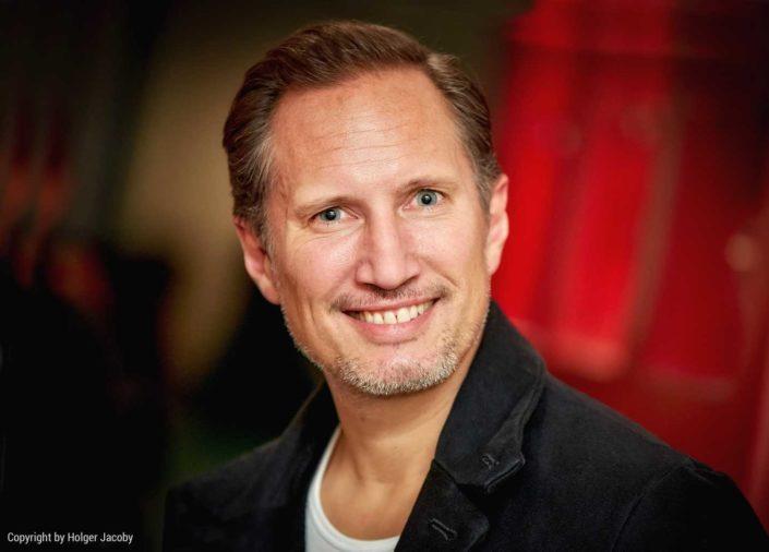 Portrait des Schauspielers Benno Fürmann