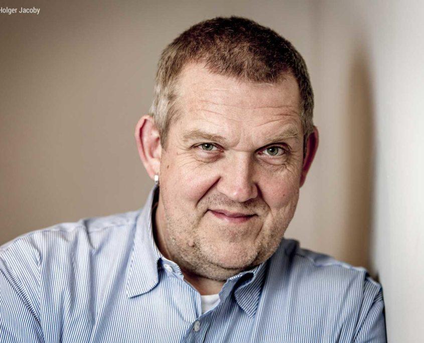 Portrait des Schauspielers Dietmar Bär
